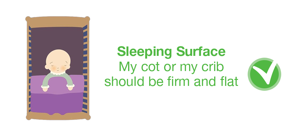 sleeping surface